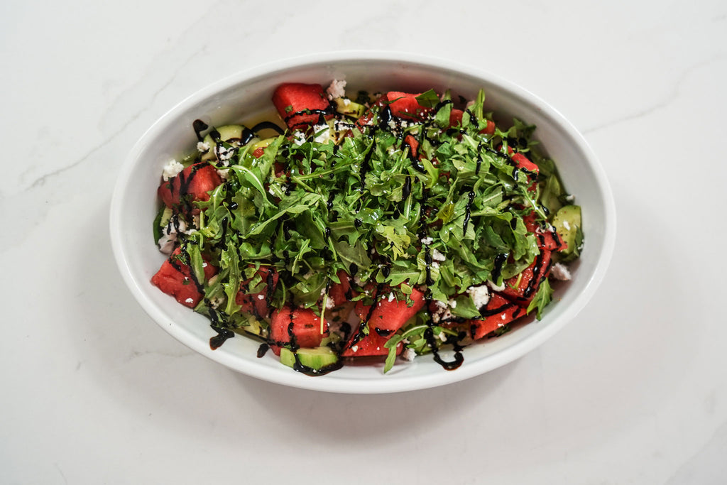 Plant Based Watermelon Salad (4-6 servings)