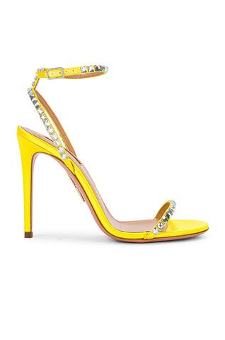 aquzurra yellow heel
