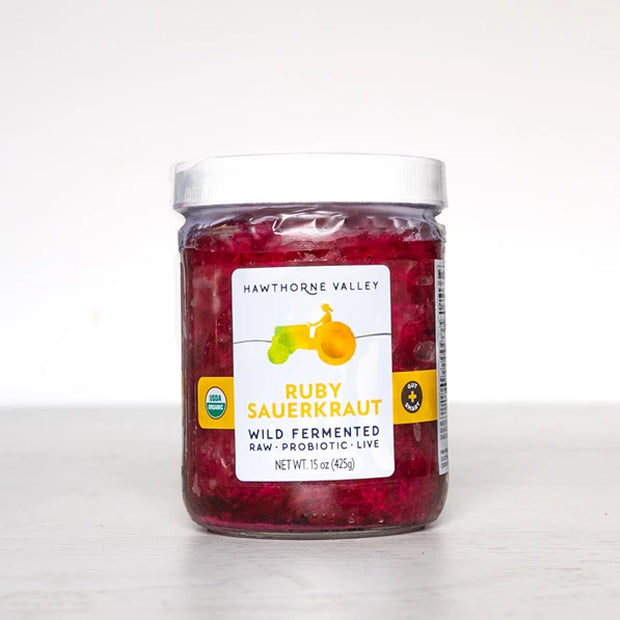 Organic Ruby Red Sauerkraut