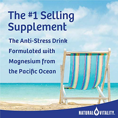 Natural Vitality® Calm, #1 Selling Magnesium Supplement, Anti-Stress Drink Mix Powder, Raspberry Lemon - 16 Ounce (Packaging May Vary)