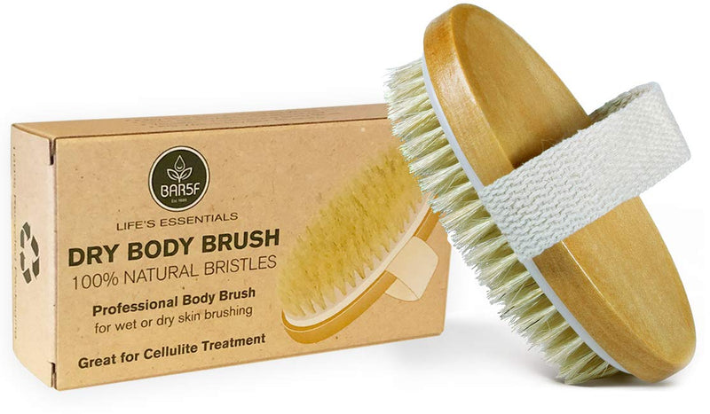 Dry Body Brush - 100% Natural Bristles 6