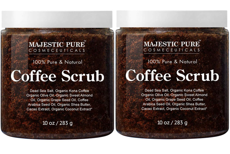 Majestic Pure Arabica Coffee Scrub 1