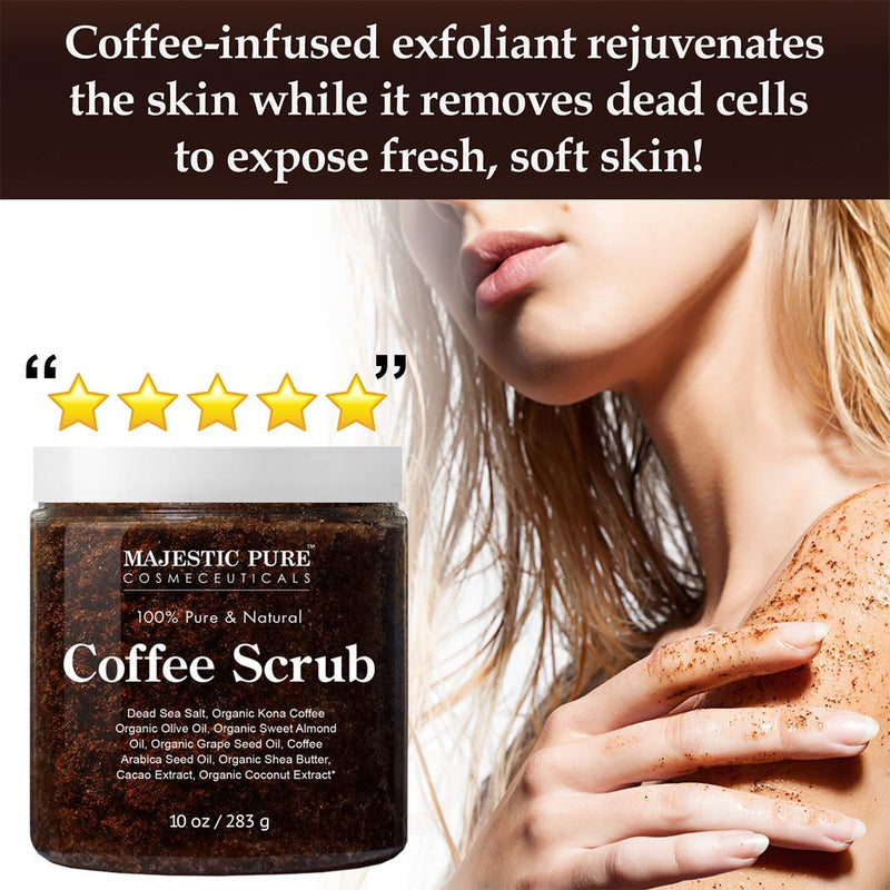 Majestic Pure Arabica Coffee Scrub 6
