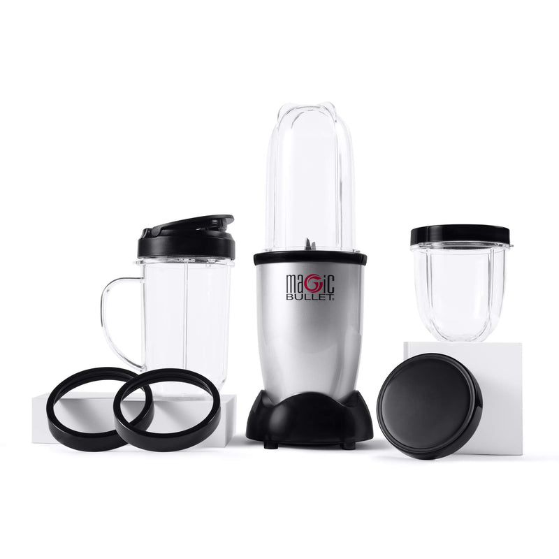 Magic Bullet Blender, Small, Silver, 11 Piece Set 6