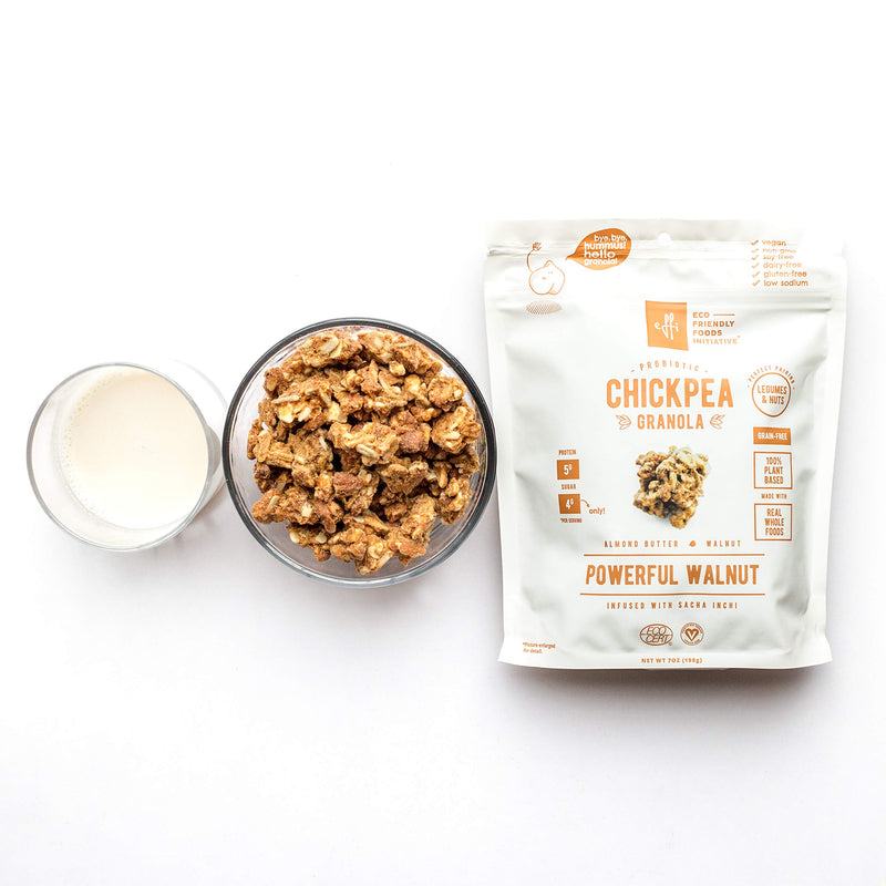 Chickpea Granola Powerful Walnut 5