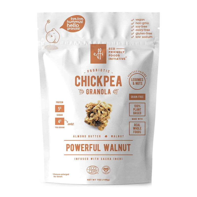Chickpea Granola Powerful Walnut 1
