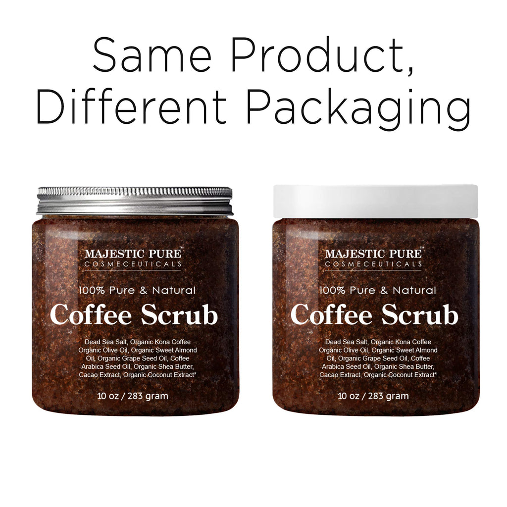 Majestic Pure Arabica Coffee Scrub 2