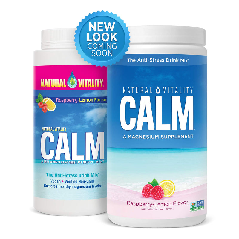 Natural Vitality® Calm, #1 Selling Magnesium Supplement, Anti-Stress Drink Mix Powder, Raspberry Lemon - 16 Ounce (Packaging May Vary) 6