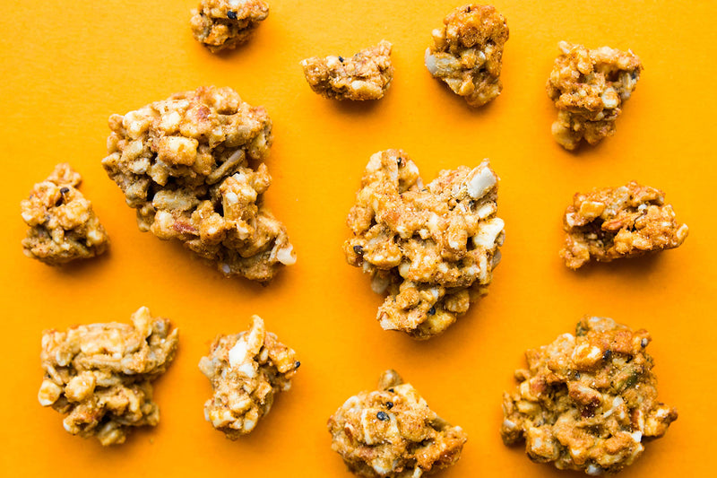 Chickpea Granola Powerful Walnut 4