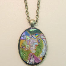 Load image into Gallery viewer, Women in a Hat Picasso Mosaic Jewelry