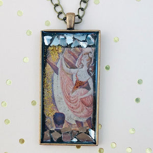 The Can-Can Seurat Mosaic Jewelry
