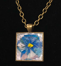 Load image into Gallery viewer, Pansy Mosaic Jewelry