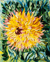 Load image into Gallery viewer, Yellow Dahlia
