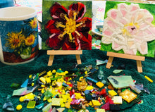 Load image into Gallery viewer, Gift Certificate - Private Mosaic Glass Lesson- Our Studio - Canvas