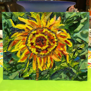 Gift Certificate - Private Mosaic Glass Lesson- Our Studio - Canvas