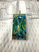 Load image into Gallery viewer, Van Gogh Irises Mosaic Jewelry
