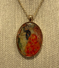 Load image into Gallery viewer, Women Friends Klimt Mosaic Jewelry