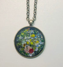 Load image into Gallery viewer, Flowers in a Vase Mosaic Jewelry