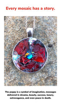 Load image into Gallery viewer, Poppy Mosaic Jewelry