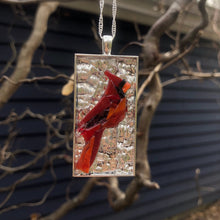 Load image into Gallery viewer, Large Cardinal Mosaic Jewelry