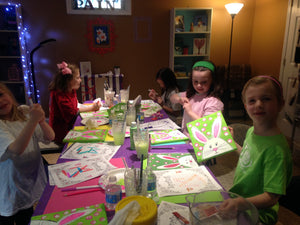 Kids camps and classes - Take a group class in our West chester Pa studio. You pick the design we do all the work. Cost vary based on products used.