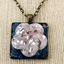 Load image into Gallery viewer, Pink Ice Flower Mosaic Jewelry