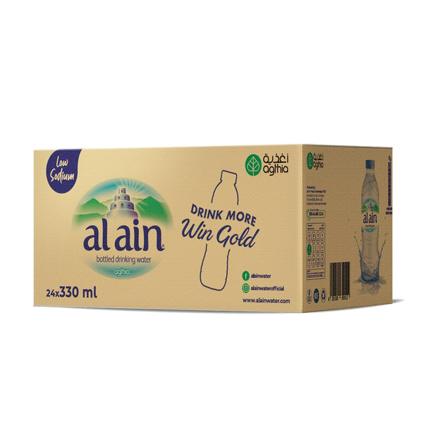Al Ain Water Low Sodium 330ml x 24 DMWG