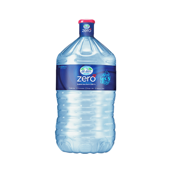 Al Ain Water Zero 4 Gallon