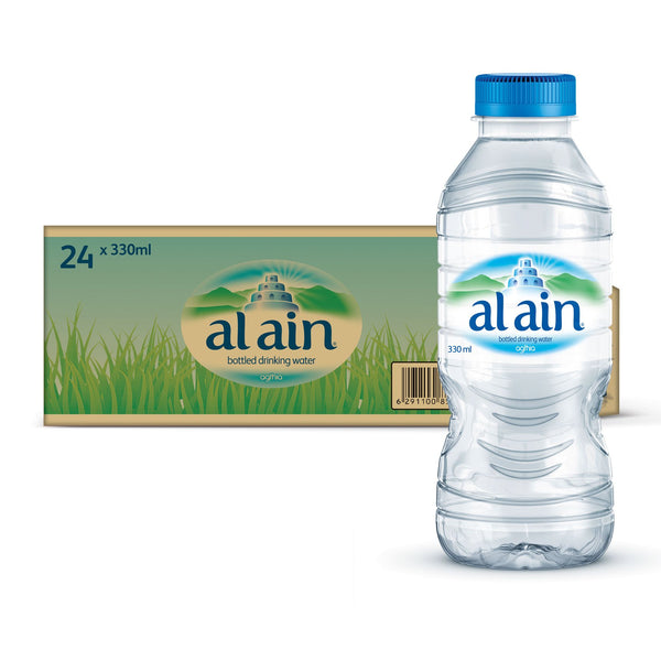 Al Ain Water Low Sodium 330ml x 24 - Alainwater