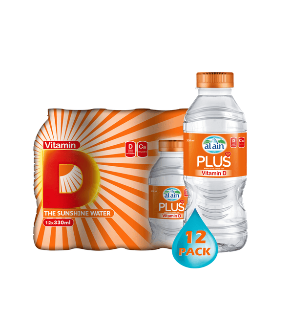 Al Ain Vit D Plus 330ml x 12