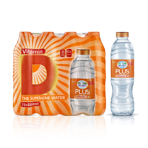 Al Ain Vit D Plus 500ml x 12
