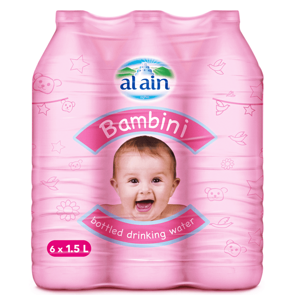Bambini baby Water 6 X 1.5 L