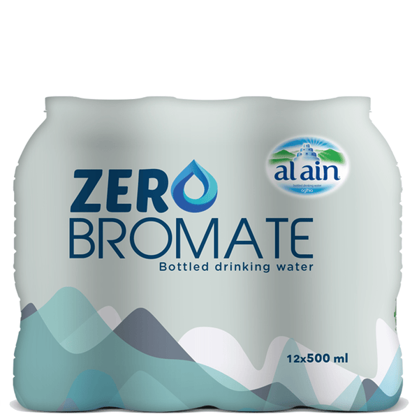 Al Ain Zero Bromate Water 500 ml x 12