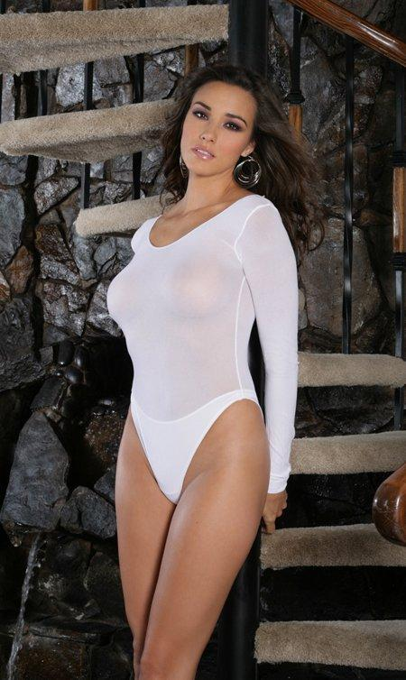 Opaque Long Sleeve Teddy - One Size Fits Most