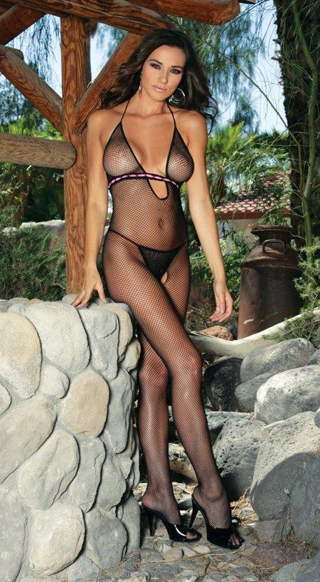 Fishnet Bodystocking - One Size Fits Most
