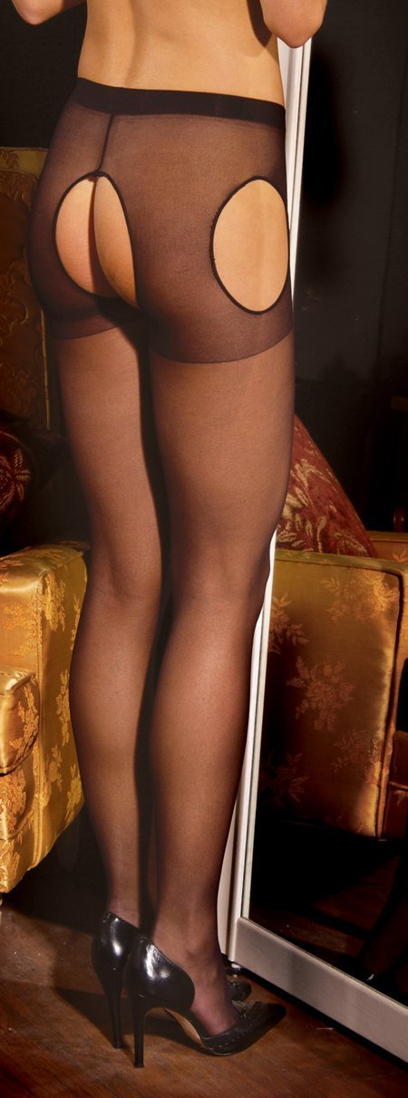 Sheer Suspender Pantyhose - One size and Queen Available