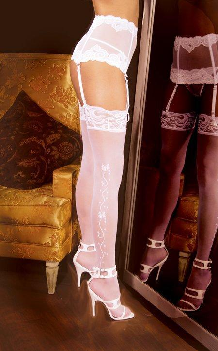 Wedding Bells Thigh High - One Size Available
