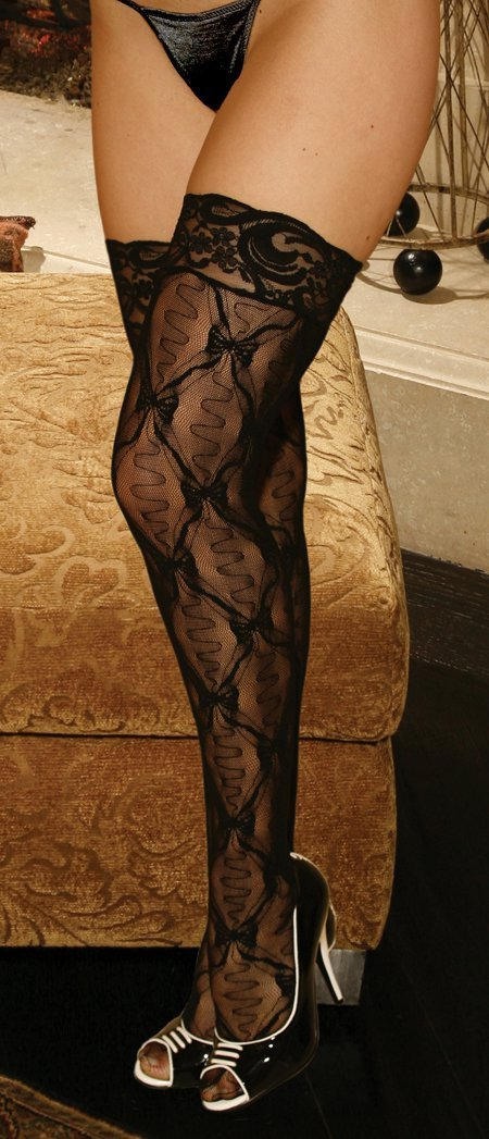 Lace Top  Thigh High - One Size and Queen Available