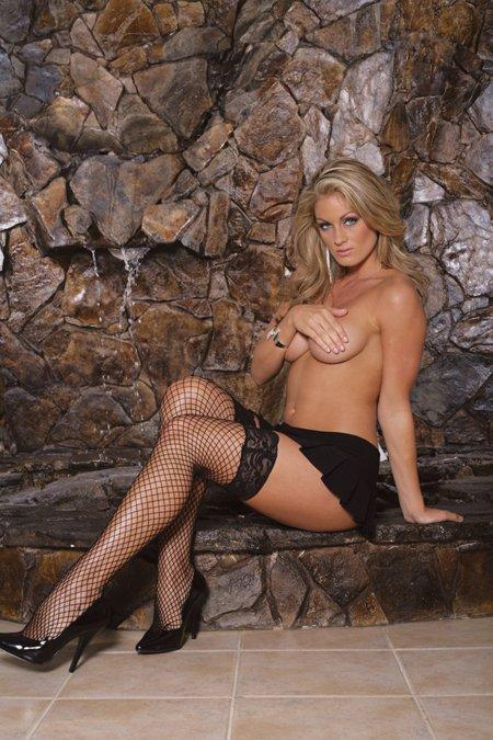Thigh High Diamond Net - One Size and Queen Available