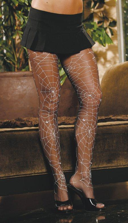 Glow In The Dark Sheer Panty Hose - One Size Fits Most