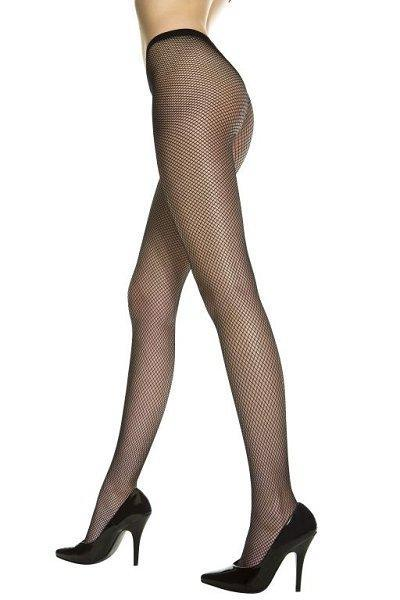 Seamless Fishnet Pantyhose - One Size Available