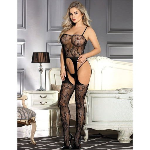 Crotchless Bodystocking - One Size and Queen Available
