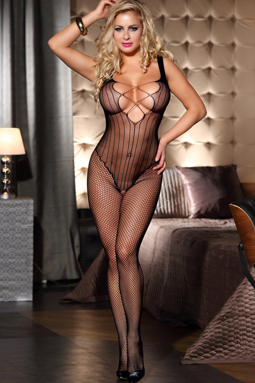 Multi Pattern Bodystocking - One Size Fits Most