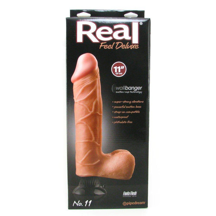 Real Feel Deluxe No 11 Wallbanger Vibrating Dildo