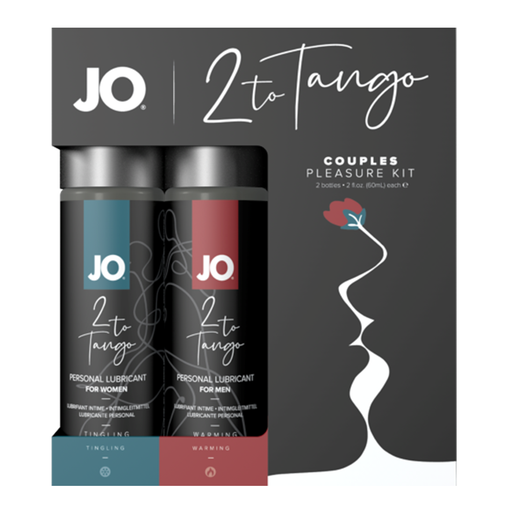 Jo 2 To Tango Couples Pleasure Kit - Warming & Cooling Lubricants