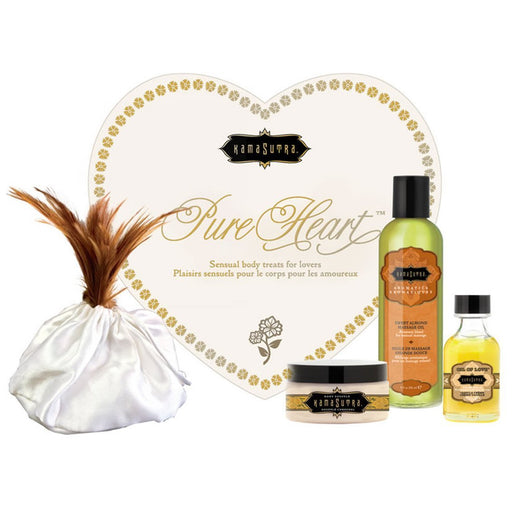 The Pure Hearts Romance Kit<p>The Perfect Way To Pamper Your Partner!