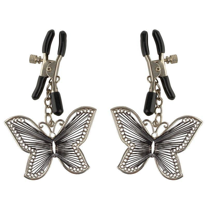 Fetish Fantasy Butterfly Nipple Clamps