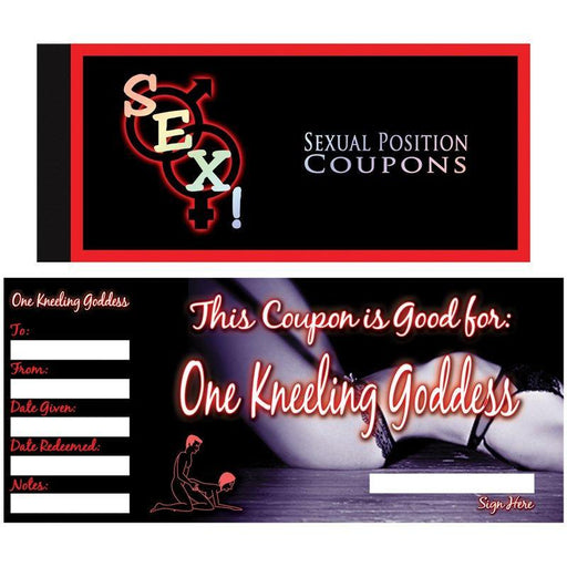 Sexual Position Coupons