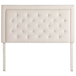 STRUCTURES FRAMES- RECTANGLE DIAMOND TUFTED UPHOLSTERED HEADBOARD