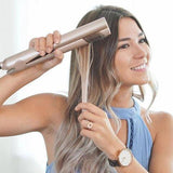 2 In 1 Straightener And Curling Iron